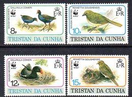 Tristan Da Cunha 1991 Endangered Species, Birds Set Of 4, MNH, SG 518/21 - Tristan Da Cunha