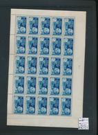 FRANCE AEF  MAURY 61 HALF SHEET MNH - A.E.F. (1936-1958)