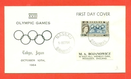 SPORT- BAHAMAS - OLIMPIADI DI TOKYO- 1964 - Bahamas (1973-...)