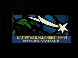 Città Del Vaticano 2006 Natale MNH** Libretto Con Timbro Del Giorno Dell'emissione - 6. 1946-.. Repubblica