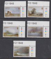 Jersey 1987 Christmas 5v (corners) ** Mnh (43963) - Jersey