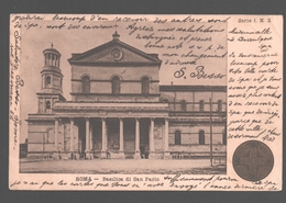 Roma - Basilica Di San Paolo - 1900 - Année Sainte 1900 - Kerken