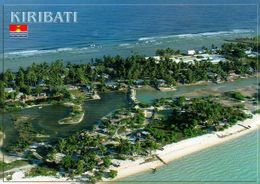 1 AK Kiribati * Blick Auf Den Ort Eita Auf Der Insel Tarawa - Luftbildaufnahme * - Kiribati