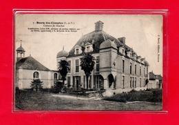 35-CPA BOURG DES COMPTES - CHATEAU DU BOSCHET - Sonstige Gemeinden