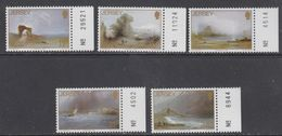 Jersey 1987 Christmas 5v (sheet Number In Margin) ** Mnh (43963A) - Jersey