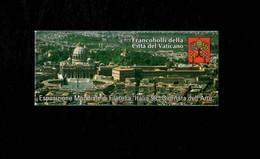 Città Del Vaticano 2003 Esposizione Mondiale Filatelia Italia '98  MNH** Libretto Con Timbro Del Giorno Dell'emissione - 6. 1946-.. Repubblica