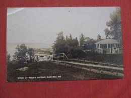 RPPC By Carter ------- Yeagle Cottage  Blue Hill  Maine         Ref 3526 - Vereinigte Staaten