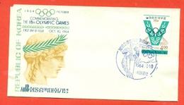SPORT- OLIMPIADI 1964- REPUBBLICA DI COREA - Corea Del Sud