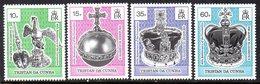 Tristan Da Cunha 1993 40th Anniversary Of Coronation Set Of 4, MNH, SG 542/5 - Tristan Da Cunha
