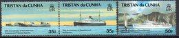 Tristan Da Cunha 1993 30th Anniversary Of Resettlement Set Of 3, MNH, SG 546/8 - Tristan Da Cunha