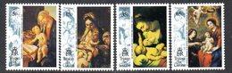 Tristan Da Cunha 1993 Christmas Set Of 4, MNH, SG 549/52 - Tristan Da Cunha