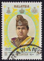 MALAYSIA-KELANTAN 1980 Sultan Installation 50sen Sc#114 - USED @PM106 - Malaysia (1964-...)