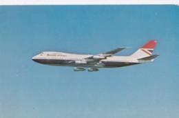AL69 Aviation - British Airways Boeing 747 In Flight - 1946-....: Moderne