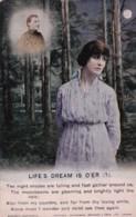 AO16 Bamforth Song Card - Life's Dream Is O'er (1) - Postcards