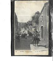 64-ORTHEZ-Une Vue Animée De La Rue Moncade-Attelage ANE - Orthez