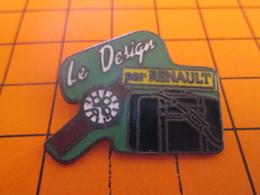 116A PIN'S PINS / Rare Et De Belle Qualité ! / Thème : AUTOMOBILES / LE DESIGN BY RENAULT - Renault