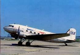 Douglas DC-3 ACE Transvalair Airlines Aereo Avion DC 3 Aircraft Aviation Trans Val Air Aiplane  DC.3 - 1946-....: Era Moderna