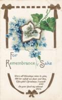AS71 Greetings - For Remembrance Sake - Embossed Christmas Greeting - Christmas