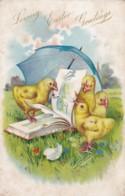 AS71 Greetings - Loving Easter Greetings - Embossed Raphael Tuck Postcard - Easter