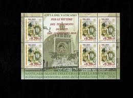 Città Del Vaticano 2010 Santuario Della Madre - Foglietto  MNH** - 6. 1946-.. Repubblica