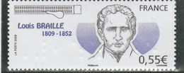 FRANCE 2009 LOUIS BRAILLE YT 4324  NEUF  ---- - Unused Stamps