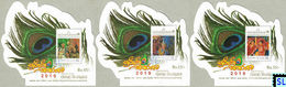 Sri Lanka Stamps 2019, Ruhunu Maha Kataragama Esala Festival, Elephants, Peacocks, Birds, MSs - Sri Lanka (Ceylon) (1948-...)