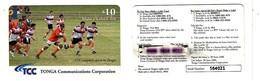TONGA___Rugby Sports $10___remote Memory Card / Malo E Lelei Card - Tonga