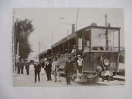 SAINT-GIRONS (09) : TRAMWAY ELECTRIQUES De L'ARIEGE - CPM, Cliché Après 1911  - Détails 2ème Scan - Tramways