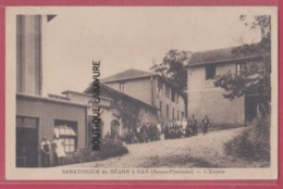 64 - GAN---Sanatorium Du Bearn--L'Entree--animé - Other Municipalities