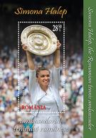 Romania 2019 / Simona Halep / Perforated S/S - Tennis