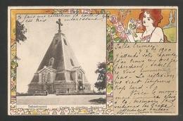 Belle C.P.A Précurseur  Envoyée De YALTA Crimée Pour La France (Vienne)- Voyagée 1900 - Sebastopol - Cimetiére Bratskoie - Russie