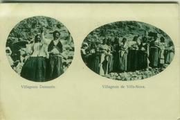 CPA FRANCE - CORSE DU SUD - VILLAGEOIS DANSANTS / VILLAGEOIS DE VILLANOVA - 1915 (BG3874) - Francia