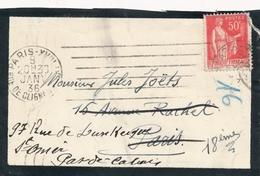 Cartes De Visite - 1936 - Gaston Bouzanquet - Visitenkarten