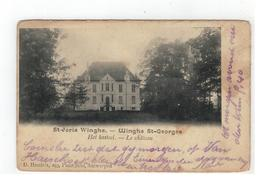 Tielt-Winge  St-Joris Winghe. - Winghe St-Georges Het Kasteel - Le Château  Uitg.D.Hendrix 1906 - Tielt-Winge