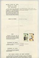 """(Maurice) Mauritius. Timbres Postaux Utilisés Comme Fiscaux Sur Certificat D'avaries 1980. Bateau """"Belle Isle"""" . - Maurice (1968-...)"""