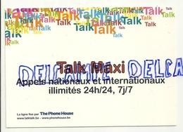 Publicité Pour  Le Téléphone Talk Maxi. Carte Boomerang - Publicité