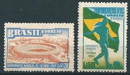 Brasil - Brazil (1950) Yv. Av. 64/65  /  World Cup - Soccer - Football - Calcio - Fussball - Fußball-Weltmeisterschaft