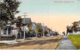 CANADA ( Nouvelle Ecosse - CAP BRETON ) SYDNEY : Park Street  - CPA Colorisée - - Cape Breton