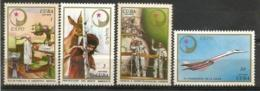 Cuba 1976 Expo`76 URSS Scott 2075-78 4v MNH - Malattie