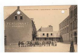 Boechout  BOUCHOUT-lez-ANVERS  - Institut St-Gabriel.  Les Bureaux De La Direction ( 2 Perforatie Gaatjes) - Boechout
