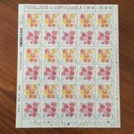 Feuille Y&T 4957 Et 4958 CONGRES MONDIAL DES SOCIETES DE ROSES  - Datée Du 04.05.15 - NON PLIEE ** - Feuilles Complètes