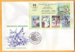 1996. Moldova Moldavie Moldau. Olympic Games In Atlanta. Moldovan Champions. FDC. - Ete 1996: Atlanta