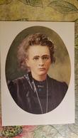 Polish Scientist Maria Skłodowska-Curie - Old USSR Postcard 1957 - Nobel Prize - Premi Nobel