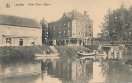 CPA - Belgique - Lanklaer - Hôtel Beau Séjour - Dilsen-Stokkem