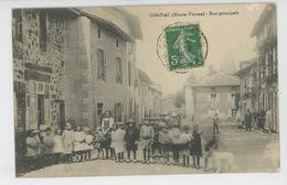 COGNAC LE FROID - Rue Principale - France