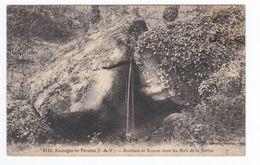 4110 BAZOUGES LA PEROUSE Rochers Et Source Dans Les Bois De La Ballue - France