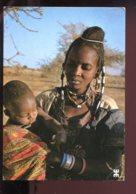 CPM Burkina Faso Près De TIN-AGADEL Maternité Warawara - Burkina Faso