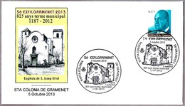 IGLESIA De S. JOSEP ORIOL. Sta Coloma De Gramenet 2013 - Iglesias Y Catedrales