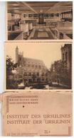 O.L.Vrouw-Waver  INSTITUT DES URSULINES 12 (10) Kunstzichtkaarten Reeks 4 - Sint-Katelijne-Waver