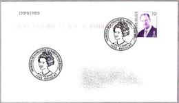 REINA FABIOLA DE BELGICA - Queen Fabiola Of Belgium. Rocourt 2000 - Familias Reales